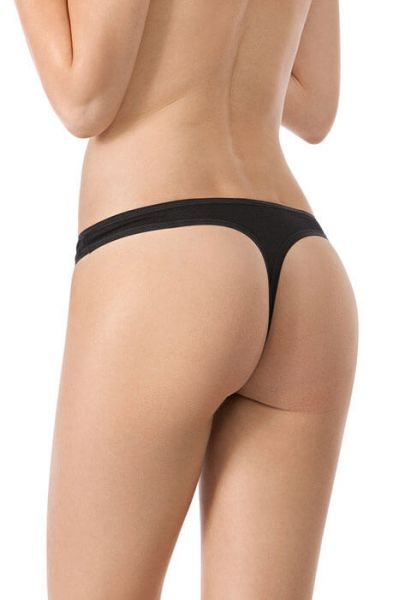 BLACK • 082652 • String im Doppelpack • Advantage Cotton • Skiny