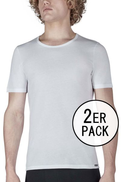 T-Shirt im Doppelpack - SHIRT COLLECTION Skiny men