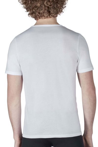 WHITE • 086912 • T-Shirt im Doppelpack • Shirt Collection • Skiny men