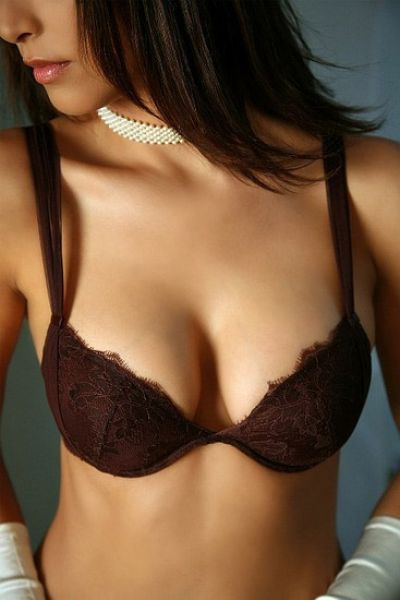 Push up BH (75A, braun) - TANTALE Implicite